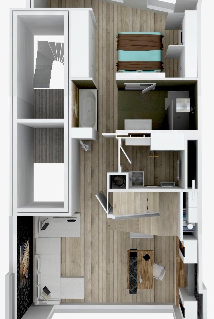 Grondplan 1 - Archion by Geert Van Rysseghem