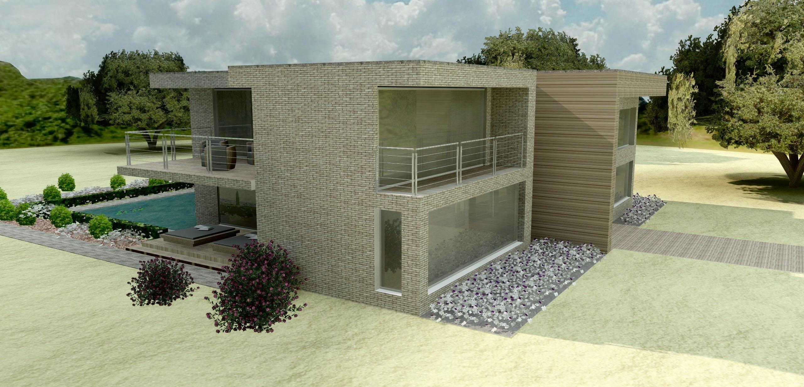 2012 - Londerzeel - zijgevel - Archion by Geert Van Rysseghem