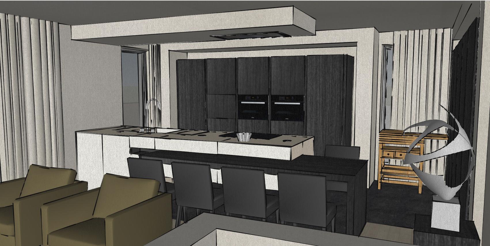 Academia duplex keuken