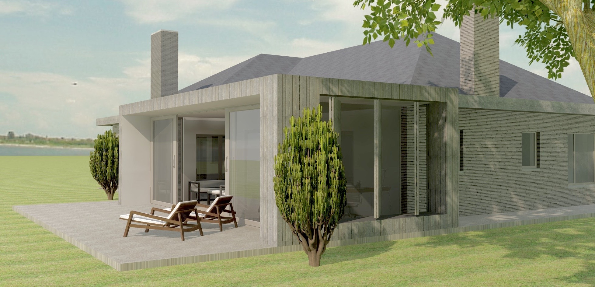 Lovendegem renovatie bungalow- veranda - Archion by Geert Van Rysseghem.jpg